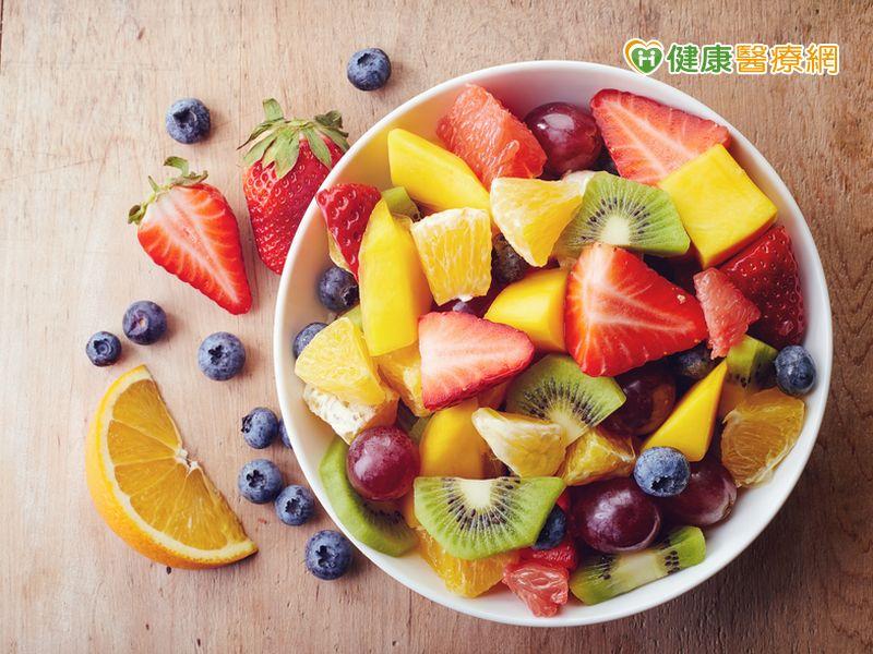 吃蔬菜就夠了? 一些營養素須從水果中獲得