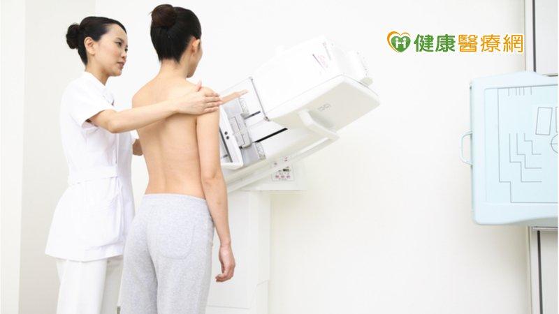 預防乳癌應定期篩檢 乳房X光攝影檢查揪病兆